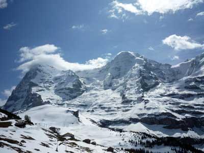 Il Ghiacciaio dello Jungfrau (Svizzera)