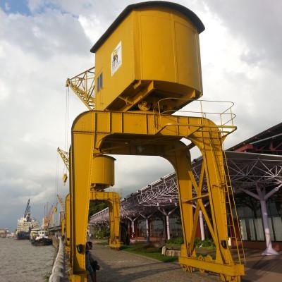 Una Gru del vecchio porto