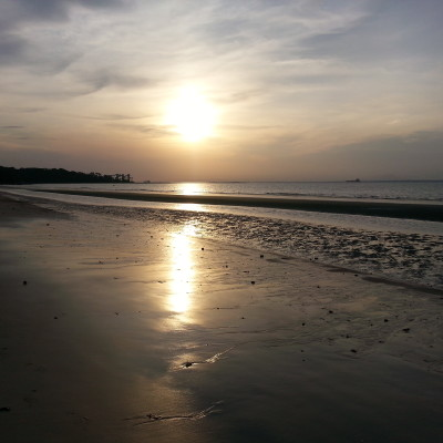 Tramonto sulla Praia do Caripì