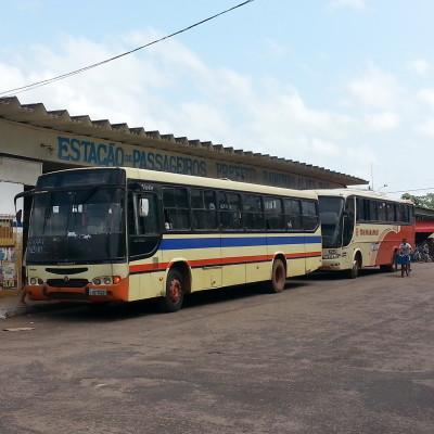 Stazione degli autobus a Barcarena