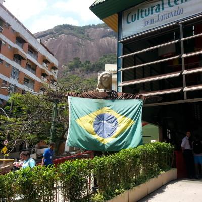 Stazione di partenza del trenino per il Corcovado (Cristo Redentore)