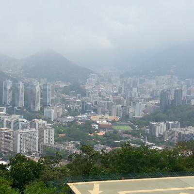 Vista sulla Città di Rio