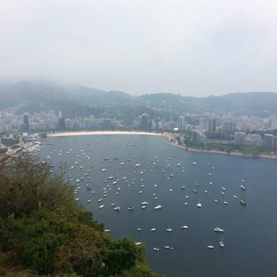 Vista sulla Baia di Rio