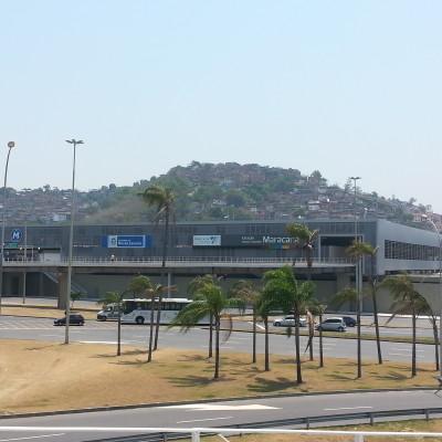 Vista della Favelas di Rossigna