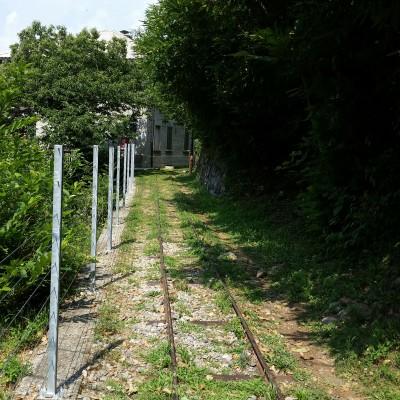 Sentiero sulla Decauville