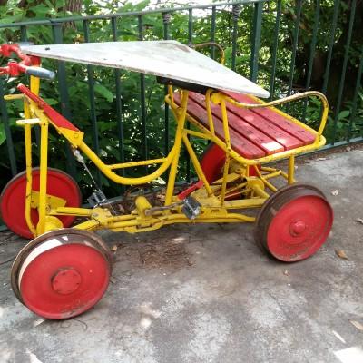 Ciclo per rotaia