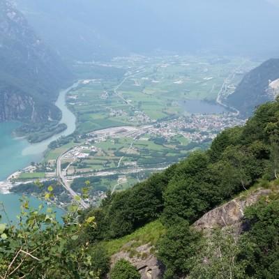 Vista sulla Val Chiavenna